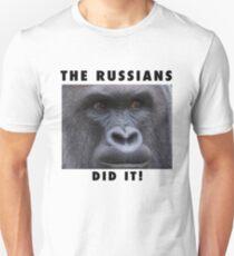 THE RUSSIANS DID IT - HERAMBE  Unisex T-Shirt