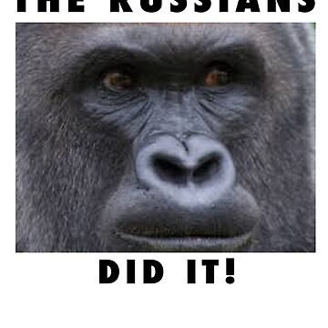 THE RUSSIANS DID IT - HERAMBE  by pgnas