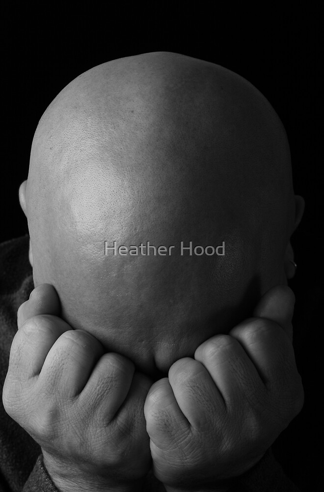Depressed man by Heather Hood