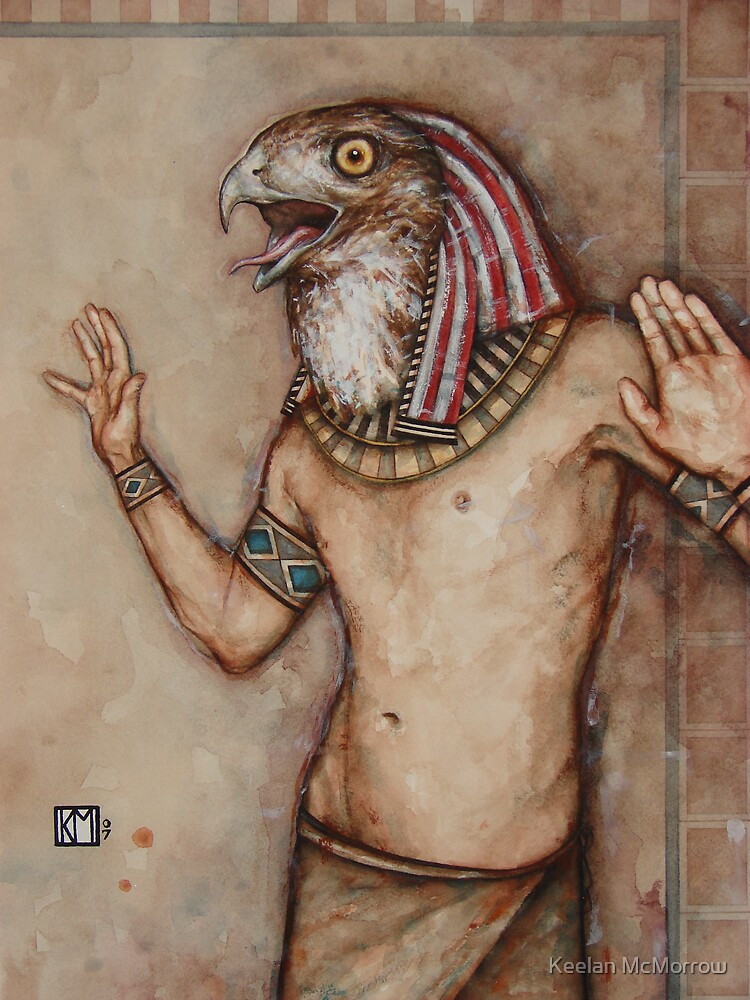 Angry Horus, Screaming by Keelan McMorrow