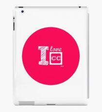 I Love Closed Captioning iPad Case/Skin