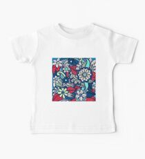 Floral Pattern Baby Tee