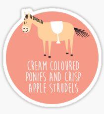 Sound of music pony Sticker