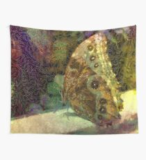 Golden Butterfly Wall Tapestry