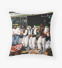 City Buskers Throw Pillow
