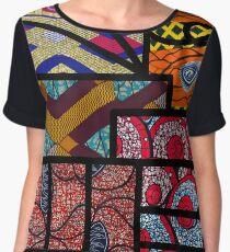 African print Women's Chiffon Top