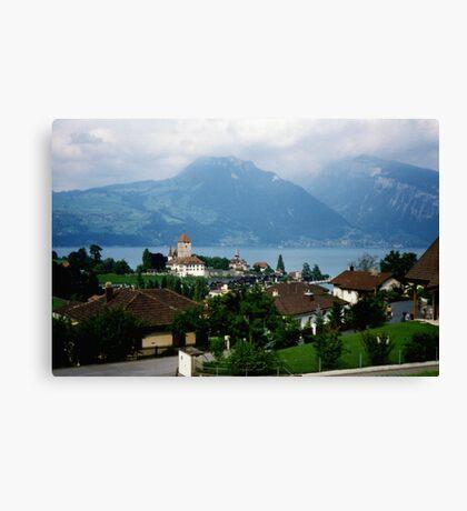 Spiez, Switzerland Canvas Print