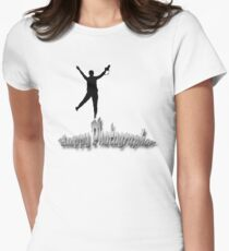 Happy Photographer Women's Fitted T-Shirt