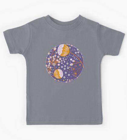 Petite Blumen violette Kids Clothes