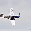 P-51 Flyby by Jerry  Mumma