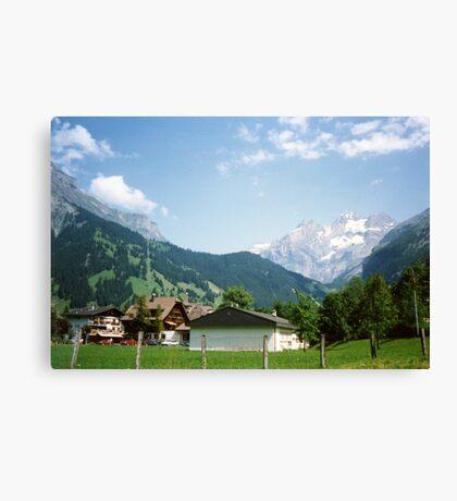 Kandersteg Mountains Canvas Print