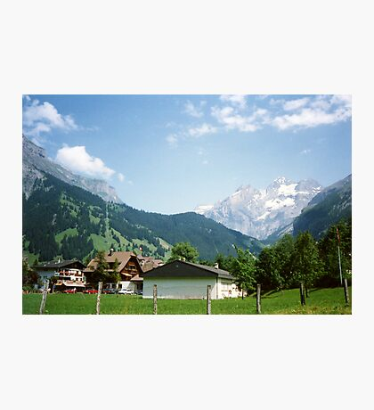 Kandersteg Mountains Photographic Print