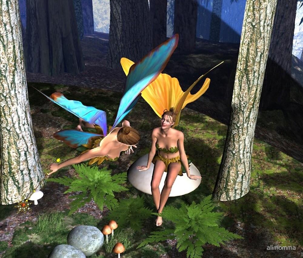 Fairy Fun by alimomma