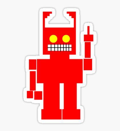 Mr Robot Demonstrates the Binary Number System.... (unisex guys) Sticker