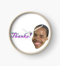 "Earl Sweatshirt ""Thanks!"" Clock"