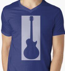 Guitar Lover Mens V-Neck T-Shirt