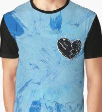 Heart Tie Dye Shirt Graphic T-Shirt