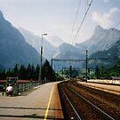 Kandersteg Train Station by georgiegirl