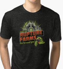 Greetings From Rupture Farms Tri-blend T-Shirt