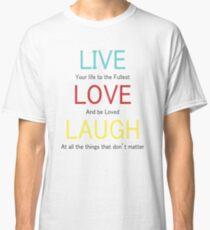 T Shirt Love & live Classic T-Shirt