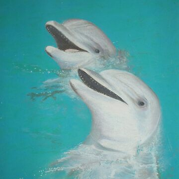 Happy Dolphins by Carolyn