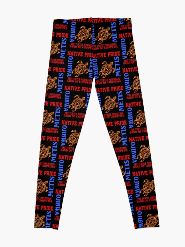 Alternate view of NATIVE PRIDE TURTLE MOUNTAIN BAND OF CHIPPEWA Leggings