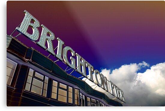 Brighton Pier by Matthew Tyrrell