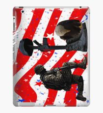 Respect our vets! iPad Case/Skin