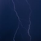 Twin Lightning Bolts by Henry Plumley