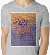sitting=knitting T-Shirt