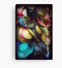 Hats - A Cornucopia Of Color Canvas Print