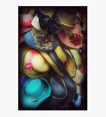 Hats - A Cornucopia Of Color Photographic Print