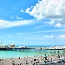Brighton Wheel and Pier by Adam Gormley
