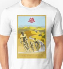 Strade Bianche Retro Cycling Art Unisex T-Shirt