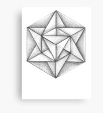 Paper Star 3 Canvas Print