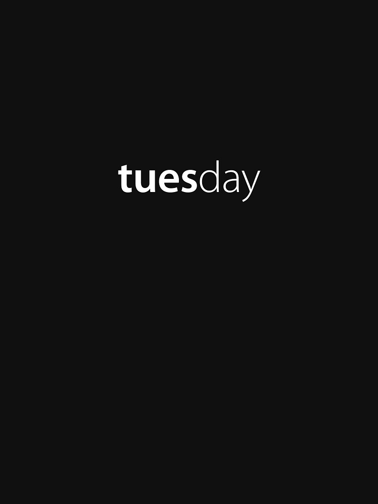 Tuesday by russell