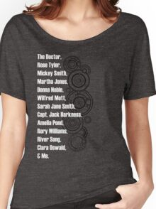Doctor Who Companions Women's Relaxed Fit T-Shirt