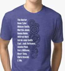 Doctor Who Companions Tri-blend T-Shirt