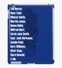 Doctor Who Companions iPad Case/Skin