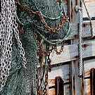 Shrimp Boat Rigging by James Poyner