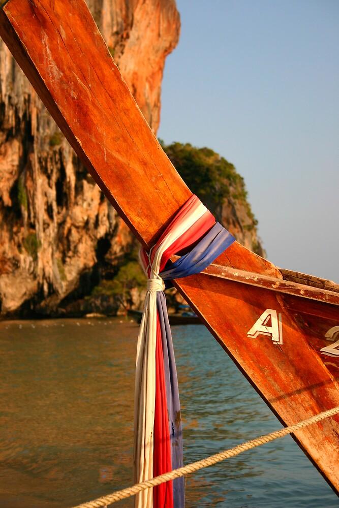 Thai Longtail Boat by Matthew Tyrrell