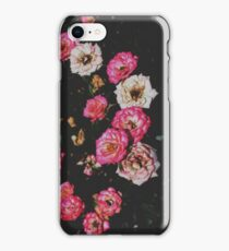 Pink and White Rose Cluster  iPhone Case/Skin