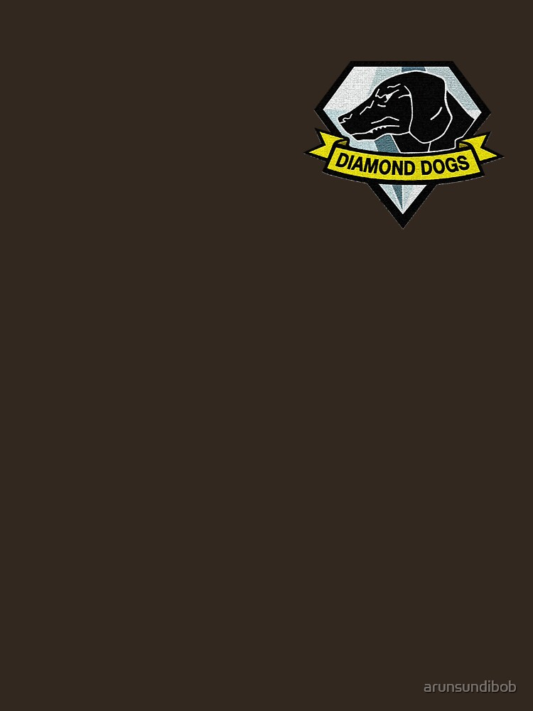 Metal Gear Solid V - Diamant Hunde Abzeichen von arunsundibob