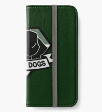 Metal Gear Solid V - Diamond Dogs (Monchromatic) iPhone Wallet/Case/Skin