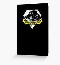 Metal Gear Solid V - Diamond Dogs Greeting Card