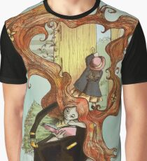 Bag Lady - Secret Garden Graphic T-Shirt