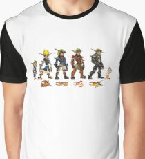 Jak and Daxter Saga - Full Colour Graphic T-Shirt