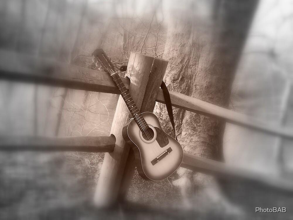 Guitar Still by PhotoBAB