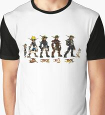 Jak and Daxter Saga - Full Colour Sketched Graphic T-Shirt