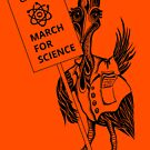 March for Science Cairns – Cassowary, black by sciencemarchau